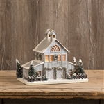 Large White Cardboard Horse Barn by Ragon House