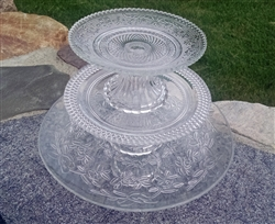 Glass Cake Plates by Park Hill Collection