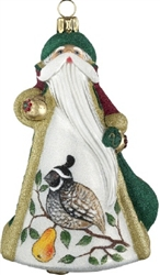 Partridge in a Pear Tree Ornament by Joy to the World