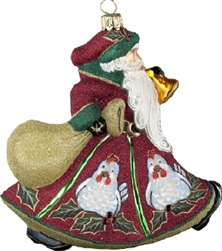 Three French Hens Ornament by Joy to the World